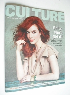 <!--2012-10-07-->Culture magazine - Christina Hendrick cover (7 October 201