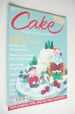 Cake Craft & Decoration magazine (August 2012)