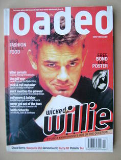 Loaded magazine - Will Carling cover (November 1995)