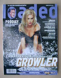 Loaded magazine - Emma Harrison cover (August 1997)