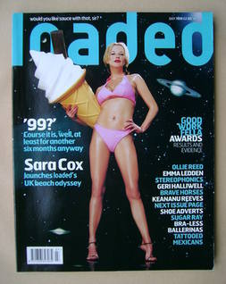 <!--1999-07-->Loaded magazine - Sara Cox cover (July 1999)