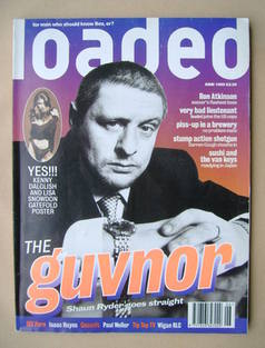Loaded magazine - Shaun Ryder cover (June 1995)
