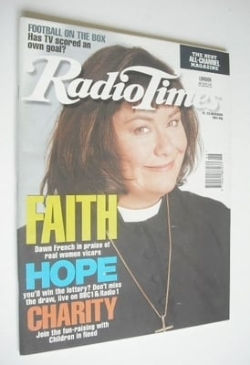 <!--1994-11-19-->Radio Times magazine - Dawn French cover (19-25 November 1