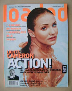 <!--1999-02-->Loaded magazine - Cameron Diaz cover (February 1999)