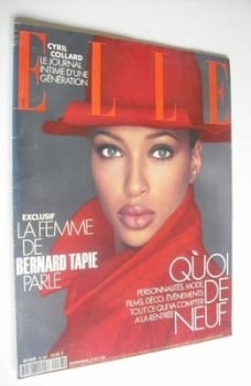 French Elle magazine - 30 August 1993 - Brandy Quinones cover