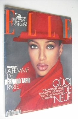 <!--1993-08-30-->French Elle magazine - 30 August 1993 - Brandy Quinones co