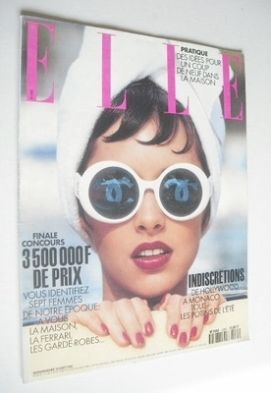 <!--1993-08-16-->French Elle magazine - 16 August 1993 - Patricia Hartmann