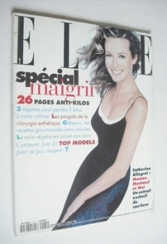 French Elle magazine - 14 March 1994 - Estelle Lefebure cover