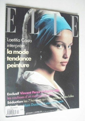 <!--1998-12-21-->French Elle magazine - 21 December 1998 - Laetitia Casta c