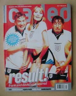Loaded magazine - Frank Skinner and David Baddiel cover (July 1996)