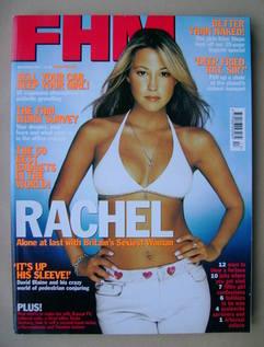 <!--2001-12-->FHM magazine - Rachel Stevens cover (December 2001)