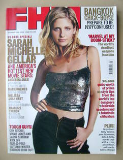 <!--2000-09-->FHM magazine - Sarah Michelle Gellar cover (September 2000)