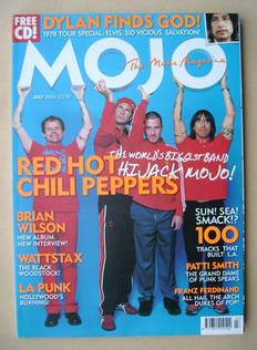 <!--2004-07-->MOJO magazine - Red Hot Chili Peppers cover (July 2004 - Issu