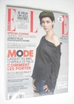 French Elle magazine - 23 April 2010 - Emmanuelle Beart cover