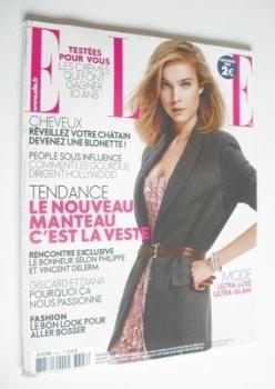 French Elle magazine - 2 October 2009 - Kim Noorda cover