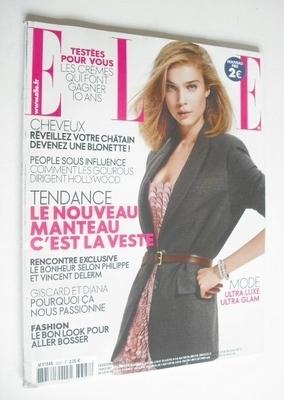 <!--2009-10-02-->French Elle magazine - 2 October 2009 - Kim Noorda cover