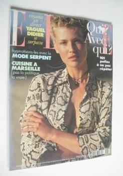 French Elle magazine - 27 June 1994 - Daniela Pestova cover