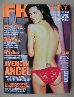 <!--1999-10-->FHM magazine - Charisma Carpenter cover (October 1999)