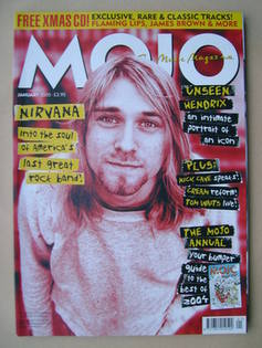 <!--2005-01-->MOJO magazine - Kurt Cobain cover (January 2005 - Issue 134)