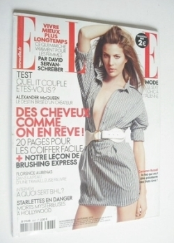 French Elle magazine - 19 February 2010 - Cameron Russell cover