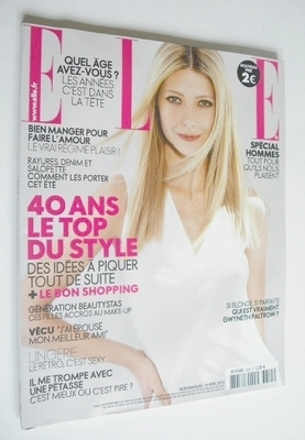 <!--2010-04-16-->French Elle magazine - 16 April 2010 - Gwyneth Paltrow cov