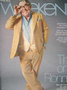 Weekend magazine - Ronnie Corbett cover (15 March 2008)