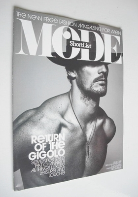 ShortList Mode magazine - David Gandy cover (Spring/Summer 2011 - Issue 1)