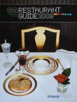 GQ Restaurant Guide 2009