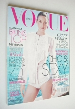 Vogue Mexico magazine - June 2011 - Kim Noorda cover