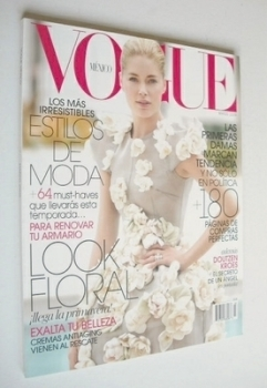Vogue Mexico magazine - March 2009 - Doutzen Kroes cover