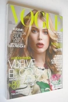 Vogue Espana magazine - March 2008 - Doutzen Kroes cover