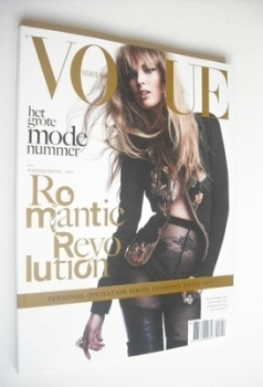 Vogue Netherlands magazine - September 2012 - Ymre Stiekema cover