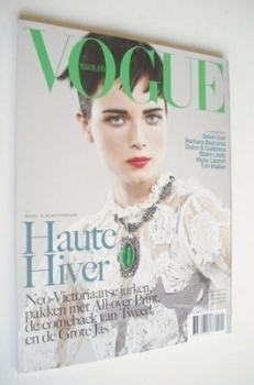 Vogue Netherlands magazine - November 2012 - Anna de Rijk cover