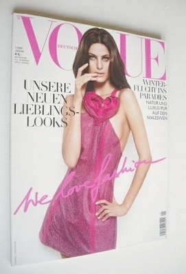 <!--2009-01-->German Vogue magazine - January 2009 - Isabeli Fontana cover
