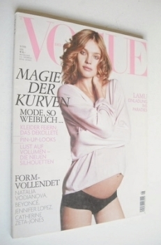 German Vogue magazine - May 2006 - Natalia Vodianova cover