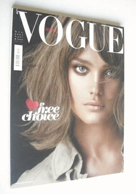 <!--2005-05-->Vogue Italia magazine - May 2005 - Natalia Vodianova cover