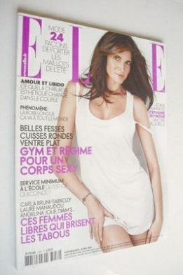 <!--2008-05-26-->French Elle magazine - 26 May 2008 - Stephanie Seymour cov