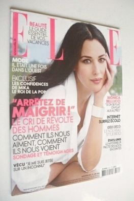 <!--2008-06-30-->French Elle magazine - 30 June 2008 - Monica Bellucci cove