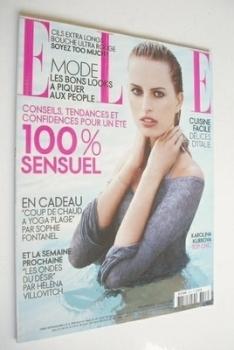French Elle magazine - 30 July 2007 - Karolina Kurkova cover