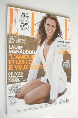 <!--2007-11-19-->French Elle magazine - 19 November 2007 - Laure Manaudou c