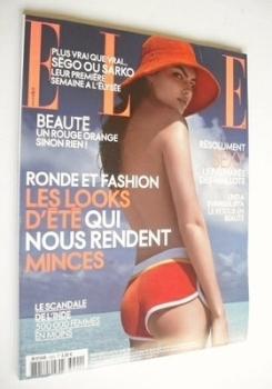 French Elle magazine - 30 April 2007 - Alyssa Miller cover