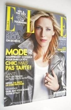 French Elle magazine - 3 December 2007 - Cate Blanchett cover