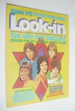 <!--1974-04-27-->Look In magazine - The Bay City Rollers cover (27 April 19