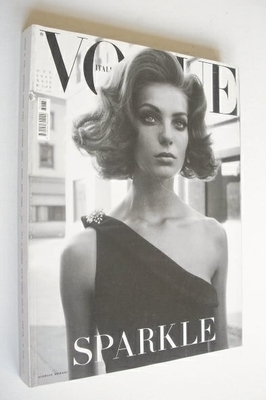 <!--2003-10-->Vogue Italia magazine - October 2003 - Daria Werbowy cover