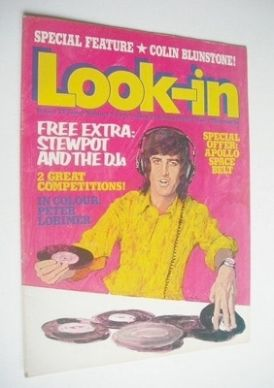 <!--1973-02-24-->Look In magazine - Ed Stewart cover (24 February 1973)