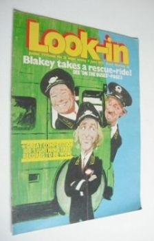 <!--1972-06-03-->Look In magazine - On The Buses cover (3 June 1972)