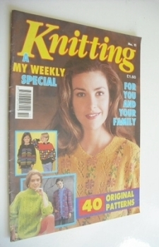 My Weekly Special magazine - Knitting (1992)