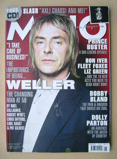 <!--2008-06-->MOJO magazine - Paul Weller cover (June 2008 - Issue 175)