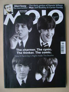 <!--2002-11-->MOJO magazine - The Beatles cover (November 2002 - Issue 108)