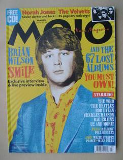 <!--2004-03-->MOJO magazine - Brian Wilson cover (March 2004 - Issue 124)